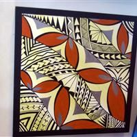 Samoan Motif Patterns DKP25 Polynesian Designs, Polynesian Art, Hawaiian Quilt Patterns, Hawaiian Quilts, Samoan Patterns, Tapas, Printmaking Ideas, Island Design, Black And White Illustration
