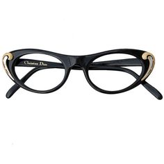 CHRISTIAN DIOR 'Cat Eye' Frames, 1950s ❤ liked on Polyvore featuring accessories, eyewear, sunglasses, glasses, occhiali, christian dior glasses, cat eye sunglasses, christian dior, cat eye glasses and christian dior eyewear