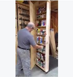 How To Store Your Tools In A Small Space (Video) | Projects to try ...