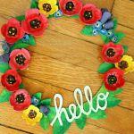 25 Spring Wreaths {DIY Home Decor} #diy #spring
