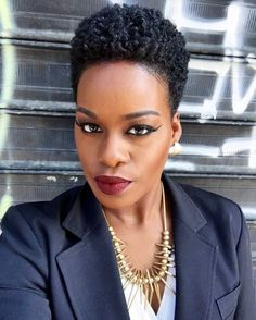 Stunning haircut designs for ladies who love short hair [ARTICLE] Pulse Live K Short Afro Hairstyles ARTICLE Designs hair Haircut ladies Live Love Pulse Short Stunning Natural Hair Short Cuts, Short Natural Haircuts, Short Afro Hairstyles, Tapered Natural Hair, Trending Hairstyles, Natural Hair Styles, Natural Beauty, Wedge Haircut, Haircut Designs