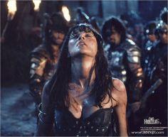 "Xena, Warrior Princess, Destroyer of Nations in Hercules, ""The Gauntlet""."