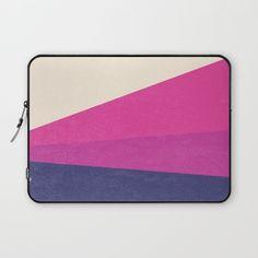 Stripe IV Laptop Sleeve by Trevor May | Society6