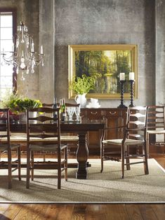 Furniture Stores in Knoxville - Jonathan Charles Furniture - Braden's Lifestyles Furniture - Dining Room Furniture - Dining Room Décor - Home Décor - Fine Furniture - Interior Design - The Design Center at Braden's
