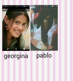 Georgina y pablo