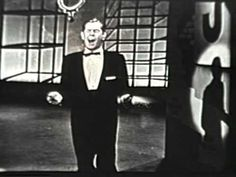 Johnnie Ray sings ''Cry''  I used to watch him on the Ed Sullivan show when I was a kid.