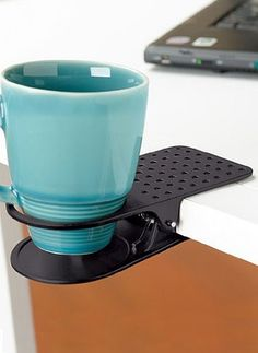 Clip-on Cup Holder: