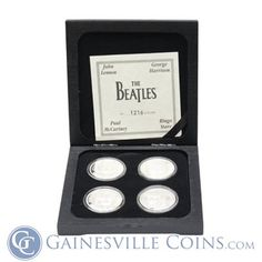 Buy Gold And Silver, The Beatles, Really Cool Stuff, Coins, Pure Products, Box, Snare Drum, Rooms, Beatles