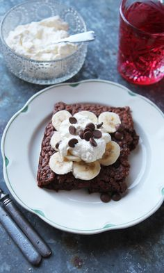 Suklaapannukakku | Maku Muffin, Breakfast, Food, Morning Coffee, Eten, Cupcakes, Muffins, Meals, Morning Breakfast