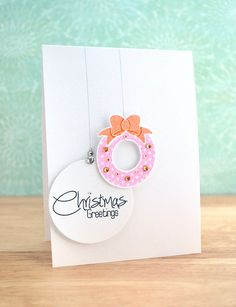 pretty, love the hanging circle elements...