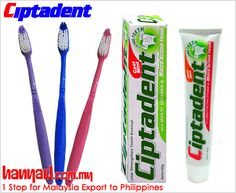 Visit- http://www.hanyaw.com.my/Products/Ciptadent_Cool_Mint_Toothpaste.html