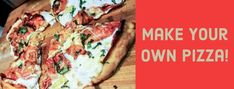 Stop buying takeout and try this easy recipe today. Make your own pizza with your favorite toppings today!