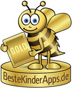 Goldene Biene Kinder App Auszeichnung