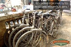 Looking for parts to restore your old bike?