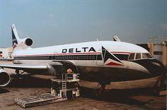 Delta Airlines Tristar 500 L1011-500 N768DL.