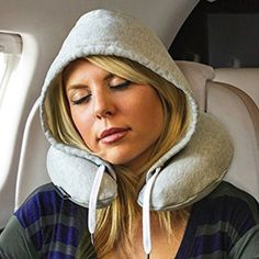 $20 BUY NOW  If you travel frequently and also generally prefer to be safely nestled in a hood away from other humans while resting, might we suggest the HoodiePillow, an inflatable travel pillow that takes up pretty much no space in your carry-on.