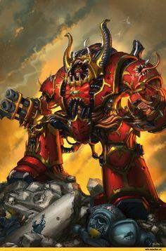 Warhammer 40000,warhammer40000, warhammer40k, warhammer 40k, ваха, сорокотысячник,фэндомы,Hellbrute,Chaos Space Marine,Chaos (Wh 40000),Khorne,World Eaters,jeffszhang