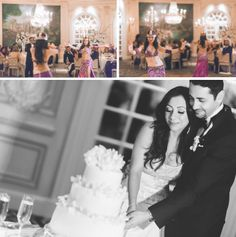 Wedding reception at the Essex House in NYC. Captured by NYC wedding photographer Ben Lau.