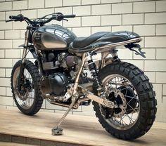 "Triumph Scrambler ""Il Sardo"" by Kingston Custom (via Bike Exif)"