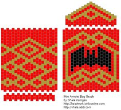 Free Peyote Stitch Beading Patterns   If you don't know how to do even count tubular peyote, Suzanne Cooper ...