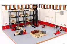 Warehouse Life   picking   My latest build has been commissi…   Flickr Lego 4, Cool Lego, Lego Hotel, Lego Crane, Lego Engineering, Lego Boards, Lego Pictures, Lego Modular, Lego Architecture