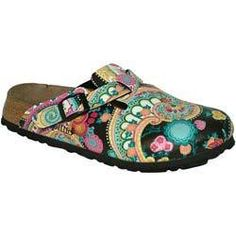 funky shoes - birkenstocks Photo - Love the design! Have many Birkenstocks, so how'd I miss this one?