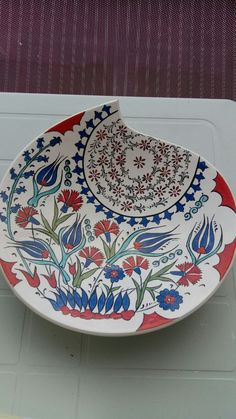 Glazes For Pottery, Ceramic Pottery, Ceramic Art, Turkish Design, Turkish Tiles, Tile Art, Textures Patterns, Stained Glass, Clay