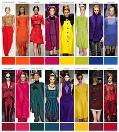 Pantone color trends autumn winter 2015 forecast. Obviously, these colors can, & do, cross over to home design.