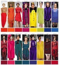 Pantone color trends autumn winter 2015 forecast