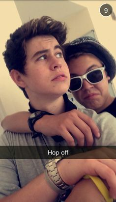 Nash and Matt #nash grier - snapchat #matthew espinosa