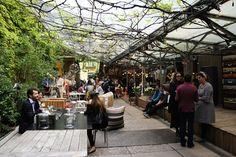 Spazio Rossana Orlandi's cafe Milan