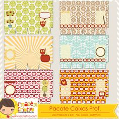 Pacote caixas doce professor http://acriativo.com/loja/index.php?main_page=product_info&cPath=34&products_id=786