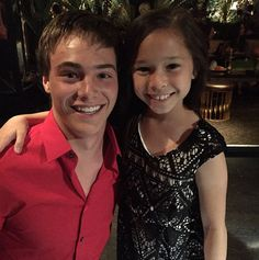 """It looks like the cast of the upcoming Disney Channel Original Movie """"Further Adventures in Babysitting"""" had a blast seeing each other at Sabrina Disney Channel Original, Original Movie, Kevin Quinn, Adventures In Babysitting, Sweet 16 Parties, Sabrina Carpenter, Famous Celebrities, Hot Guys, Tv Shows"""