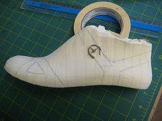 Making a Sandal
