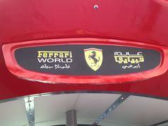Ferrari World at #AbuDhabi #UAE