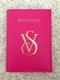 Victoria´s secret passport cover