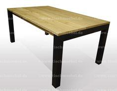 Oak Dining Table, Furniture, Home Decor, Profile, Wood Slab, Moving Out, Essen, Decoration Home, Room Decor