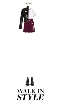 """""""Untitled #538"""" by adaylateabuckshort ❤ liked on Polyvore featuring Tod's, Valentino and Courrèges"""