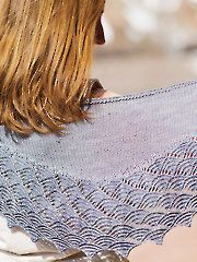 Tempest Shawl knit pattern