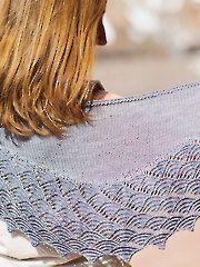 Tempest Shawl knit pattern