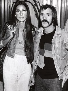 The 17 Most-Iconic American Couples Sonny&Cher