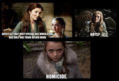 Game of Thrones #arya #stark