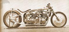 1972 honda twin-motor cb750 drag bike