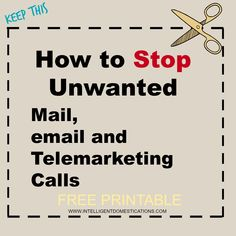 Would you like to know how to stop junk mail? Are you tired of receiving credit offers? Enjoy this Free Printable to keep. via Great resource list! Windows 10 Hacks, How Do You Stop, Tech Hacks, Tech Gadgets, Mail Email, Junk Mail, Simple Life Hacks, Ways To Save Money, Things To Know