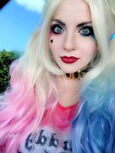 Character: Harley Quinn (Dr. Harleen Quinzel) / From: DC Comics & Warner Bros. Pictures 'Suicide Squad' / Cosplayer: Luna Lanie Entertainment (aka Luna Lanie Cosplay)