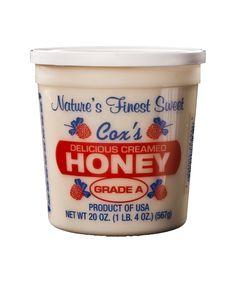 cox's creamed honey