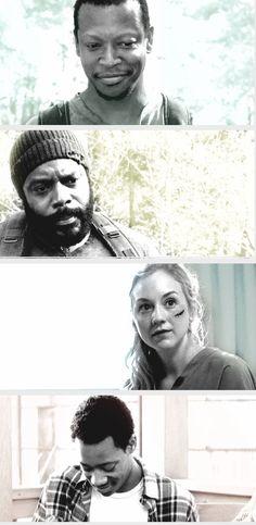 S5 #TWDFamily deaths Bob, Tyreese, Beth, Noah