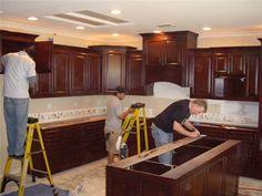 10 best cabinet installation images on pinterest dressers kitchen rh pinterest com