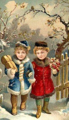 Vintage Christmas Greeting...