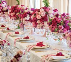 Luscious flowers for a bridal shower (Lilly Ghalichi bridal shower)